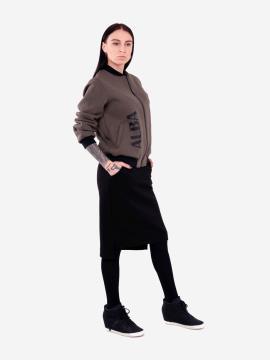 Фото товара: жіночий костюм з юбкою L (202-007-03). Вид 1.