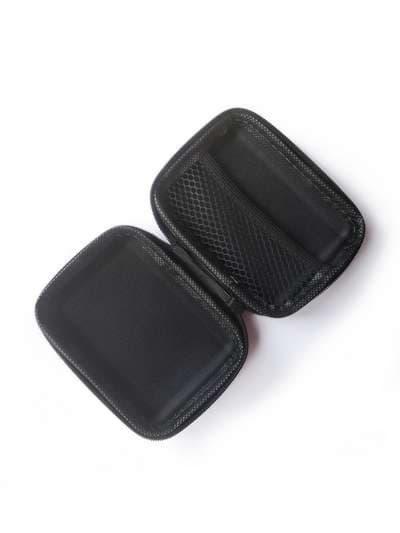 Модний чохол для навушників пупс бузкова димка. Зображення товару, вид 2
