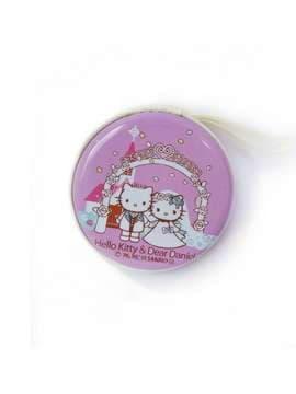 Молодежный чехол для наушников котенок сиреневый. Изображение товара, вид 1