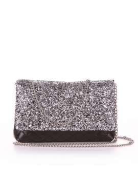 Стильная сумочка на пояс с вышивкой, модель 1919 серебро. Изображение товара, вид дополнительный.