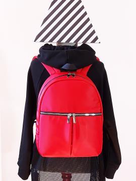Фото товара: рюкзак MAN-004-1 красный. Вид 1.