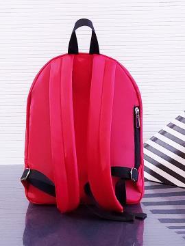 Фото товара: рюкзак MAN-004-1 красный. Вид 3.