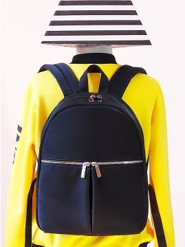 Фото товара: рюкзак MAN-004-2 чорний. Вид 1.