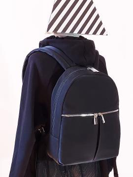 Фото товара: рюкзак MAN-004-2 чорний. Вид 2.