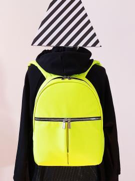 Фото товара: рюкзак MAN-004-3 жовтий. Вид 1.