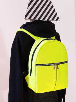 Фото товара: рюкзак MAN-004-3 жовтий. Вид 2.