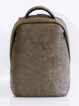 Фото товара: рюкзак MAN-012-2 темно-сірий. Вид 2.