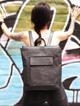 Фото товара: рюкзак TV-010-1 чорний. Вид 1.