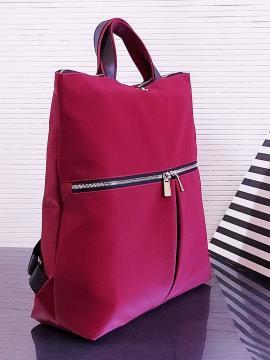 Фото товара: сумка-рюкзак MAN-005-4 бордо. Вид 2.