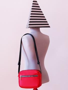 Фото товара: сумка через плечо MAN-006-1 красный. Вид 3.