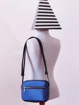 Фото товара: сумка через плече MAN-006-3 синій. Вид 1.