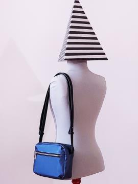 Фото товара: сумка через плечо MAN-006-3 синий. Вид 2.