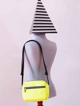 Фото товара: сумка через плечо MAN-006-6 желтый. Вид 3.