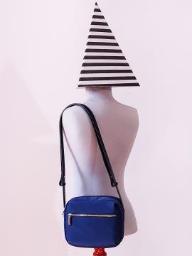 Фото товара: сумка через плечо MAN-006-7 синий. Вид 1.