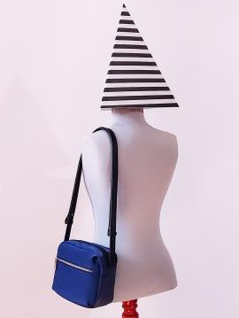 Фото товара: сумка через плечо MAN-006-7 синий. Вид 2.