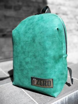 Фото товара: рюкзак MAN-001-2 зеленый-никель. Вид 1.