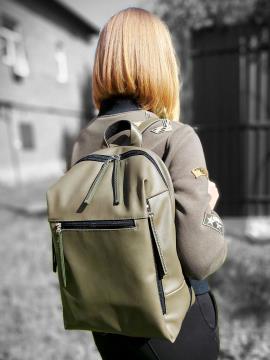 Фото товара: рюкзак MAN-002-4 хаки. Вид 1.