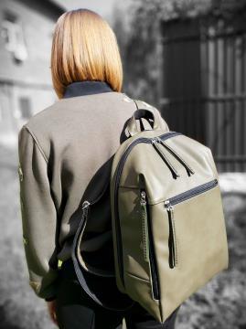 Фото товара: рюкзак MAN-002-4 хаки. Вид 2.