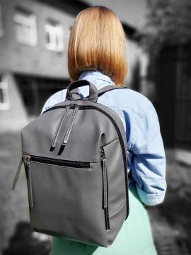 Фото товара: рюкзак MAN-002-5 сірий. Вид 1.
