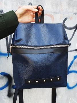 Фото товара: рюкзак MAN-014-2 синий. Вид 1.