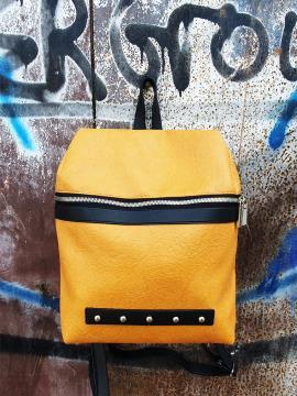 Фото товара: рюкзак MAN-014-4 жовтий. Вид 1.