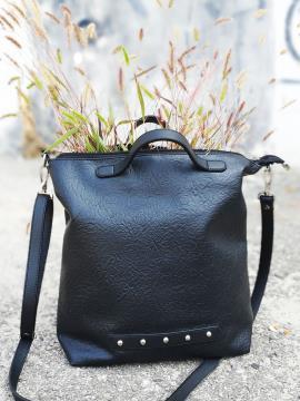 Фото товара: сумка MAN-013-1 чорний. Вид 2.