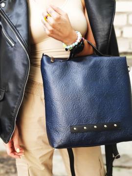 Фото товара: сумка MAN-013-2 синій. Вид 1.