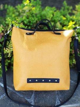 Фото товара: сумка MAN-013-4 жовтий. Вид 2.