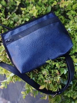 Фото товара: сумка через плечо MAN-015-2 синий. Вид 1.