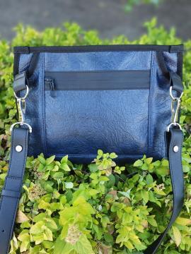 Фото товара: сумка через плечо MAN-015-2 синий. Вид 2.