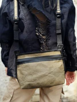 Фото товара: сумка через плече TV-009-2 хакі. Вид 1.