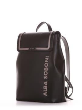 Школьный рюкзак, модель 191512 черный. Изображение товара, вид сбоку.