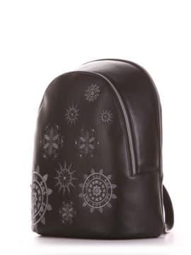Шкільний рюкзак, модель 191574 чорний. Зображення товару, вид збоку.