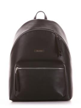 Школьный рюкзак, модель 191731 черный. Изображение товара, вид спереди.