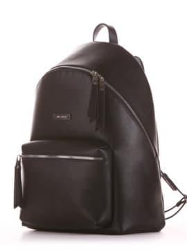 Школьный рюкзак, модель 191731 черный. Изображение товара, вид сбоку.