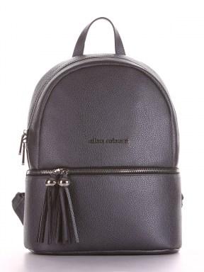 Літній рюкзак, модель 190233 графіт. Зображення товару, вид спереду.