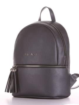 Літній рюкзак, модель 190233 графіт. Зображення товару, вид збоку.