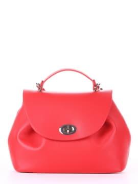 Модная сумка, модель 190003 красный. Изображение товара, вид спереди.