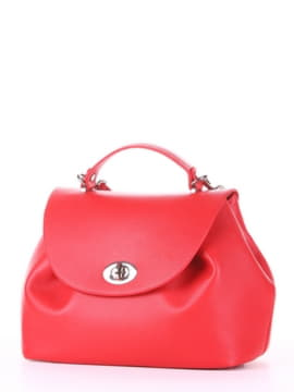 Модная сумка, модель 190003 красный. Изображение товара, вид сбоку.