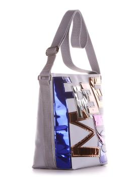 Фото товара: сумка 200023 светло-серый. Вид 2.