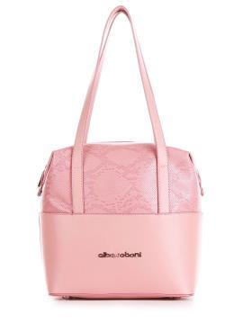 Фото товара: сумка 200051 пудрово-рожевий. Вид 1.