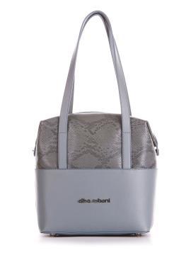Фото товара: сумка 200053 сіро-блакитний. Вид 1.