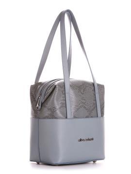 Фото товара: сумка 200053 сіро-блакитний. Вид 2.