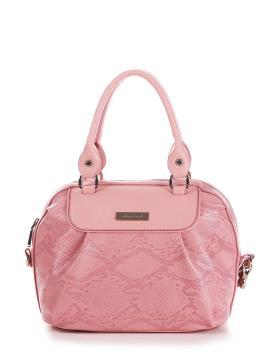 Фото товара: сумка 200061 пудрово-рожевий. Вид 1.