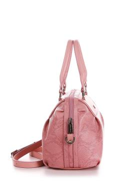 Фото товара: сумка 200061 пудрово-рожевий. Вид 2.