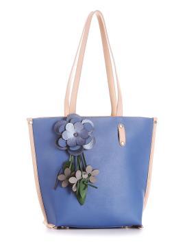 Фото товара: сумка 200163 блакитний. Вид 1.