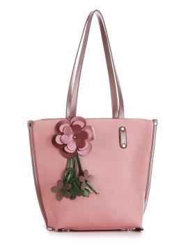 Фото товара: сумка 200164 рожевий. Вид 1.
