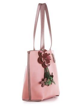 Фото товара: сумка 200164 рожевий. Вид 2.