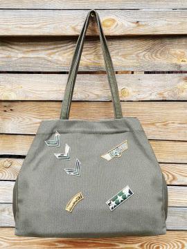Фото товара: сумка 200246 хакі. Вид 1.