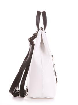 Фото товара: сумка-рюкзак 200141 белый. Вид 2.